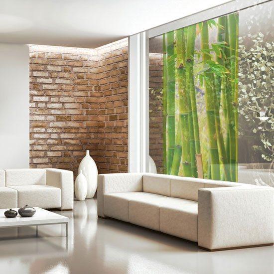 dekoracja szkła bambus