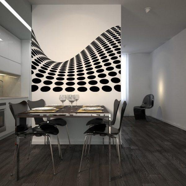 szablony ozdobne salon