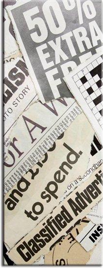 laminaty na lodówki gazety