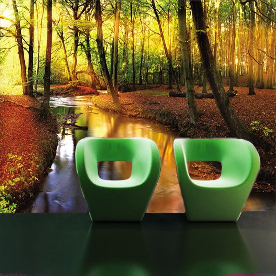 fototapety natura salon