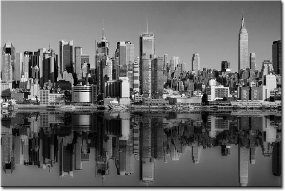 fototapeta z Manhattanem