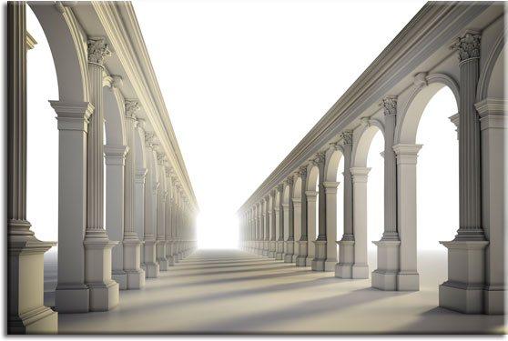 fototapety architektura