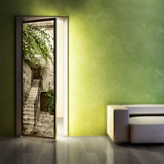 laminaty na drzwi