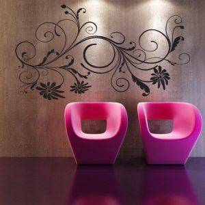 szablony ozdoby na ścianę