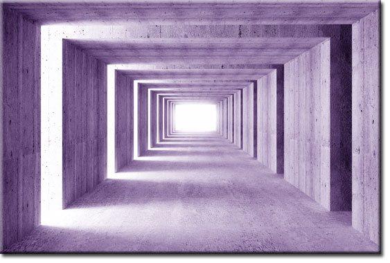 fototapeta przestrzenny tunel