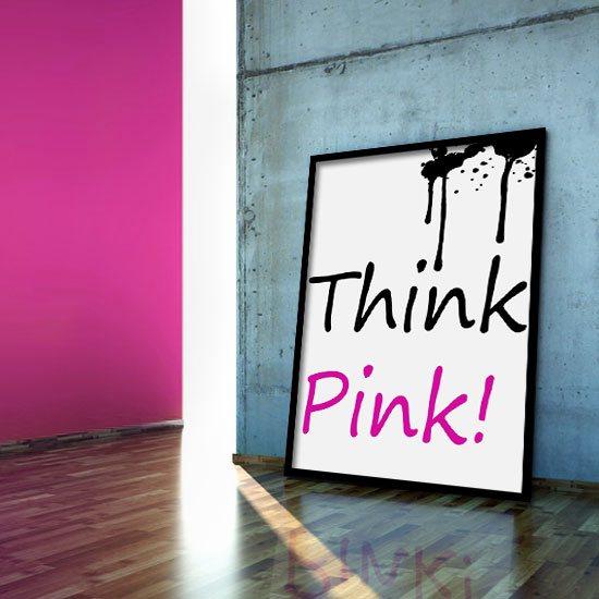 plakat grafika róz