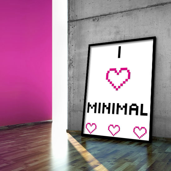 plakat I love