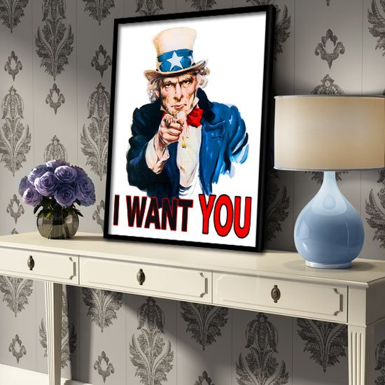 I want You plakaty