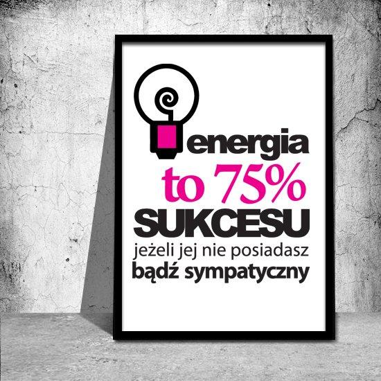 żarówka Plakat motywujący