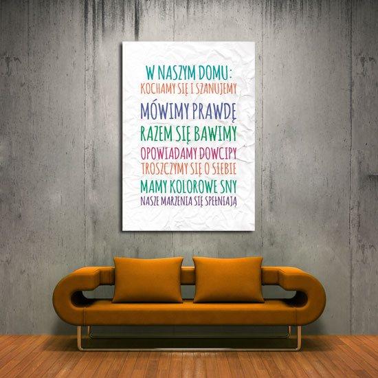 plakat zasady