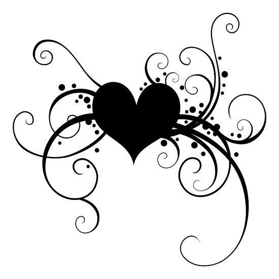 serce naklejka z wieszakiem