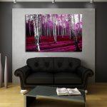las brzozowy na ścianę