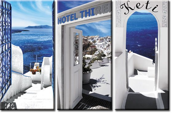 obraz Santorini