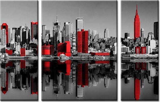 obraz wielkiego miasta