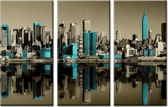 obraz miasto