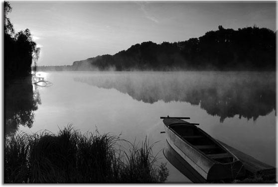 obraz jeziora