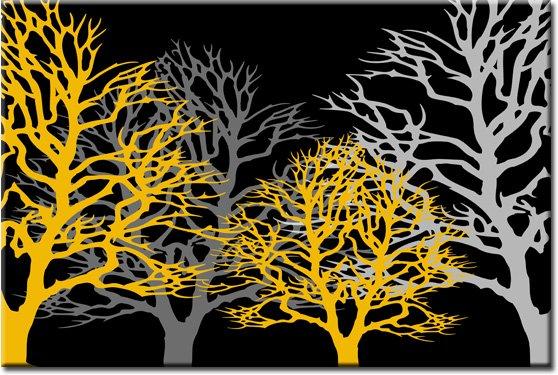 obraz drzew