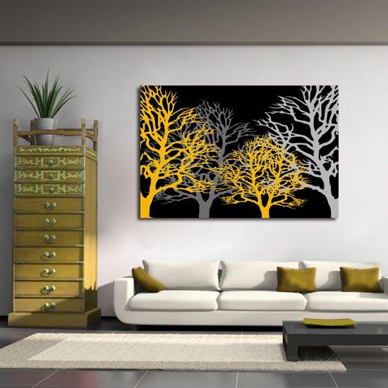 obraz drzewa