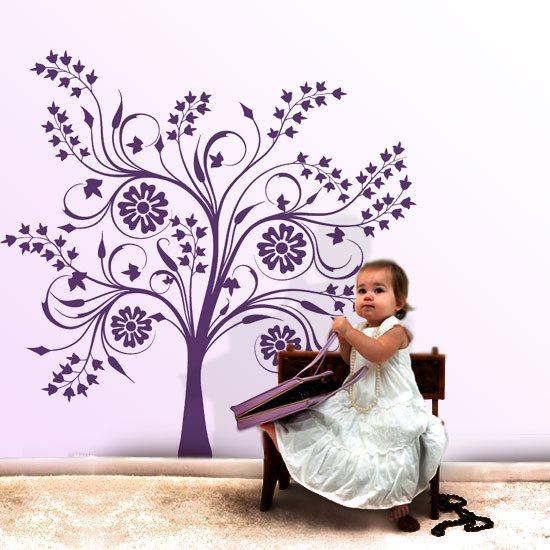 drzewko naklejka