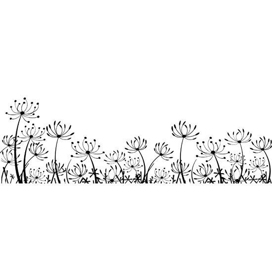 naklejka kwiatki