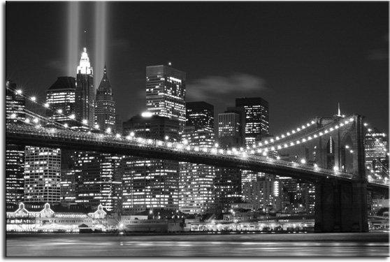 widok nocnego miasta