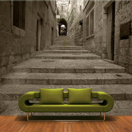fototapeta kamienne schody