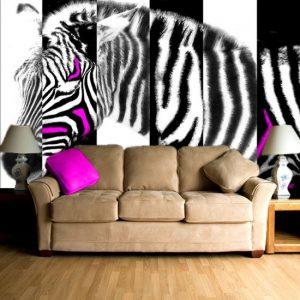 zebra fototapeta