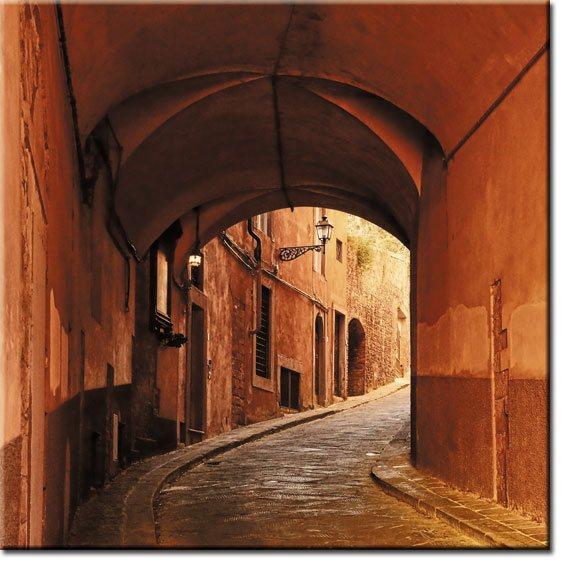 stara ulica foto-tapeta