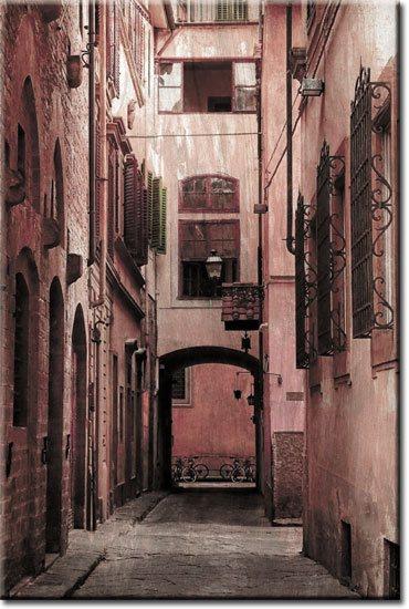 stara ulica obraz