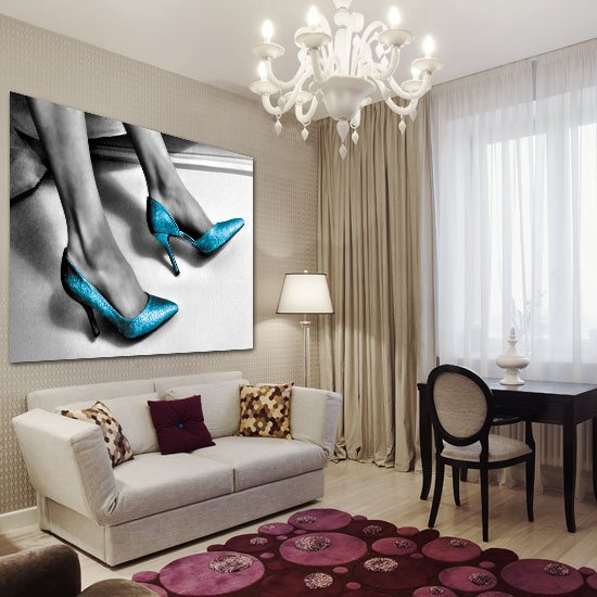 obraz z butami