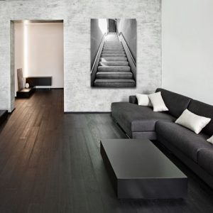 obraz betonowe schody
