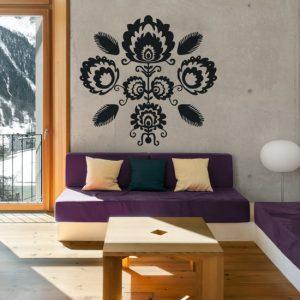 tatuaż na ścianę samoprzylepny