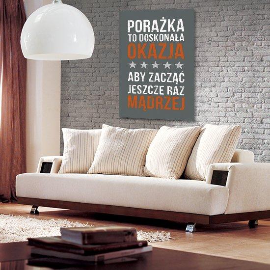 plakat z hasłem