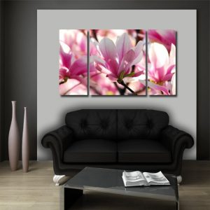 dekoracje na ściany z kwiatami