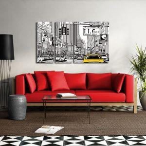 obraz rysunkowe miasto