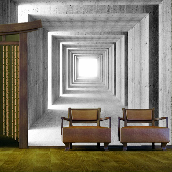 fototapeta korytarz