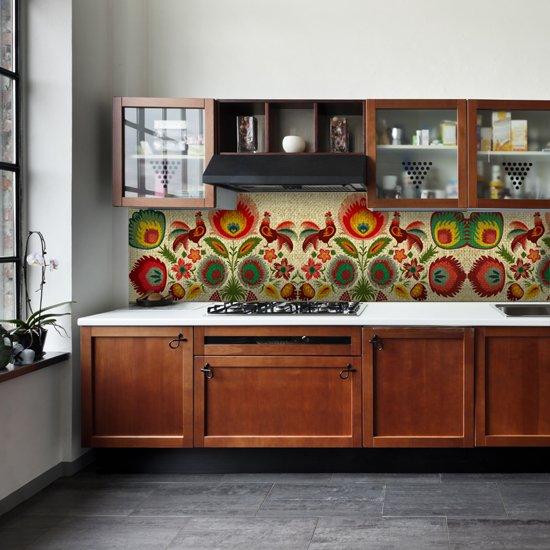 naklejka między szafki w kuchni