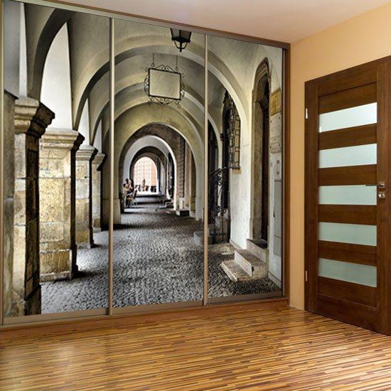 fototapeta na korytarz