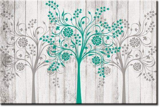 tapeta z drzewami