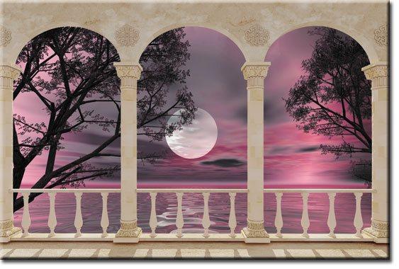 dekoracje z krajobrazem
