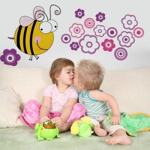 ozdoby z pszczołą