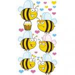 naklejki z pszczołami