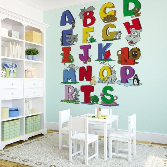 dekoracja z alfabetem