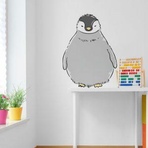 dekoracja z pingwinem
