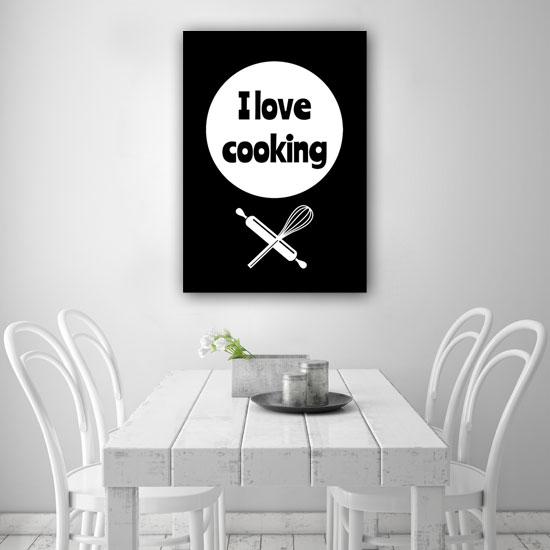 Czarno Biały Obraz Do Kuchni