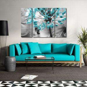 Obrazy turkusowe, miętowe, zielone
