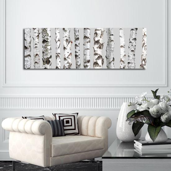 dekoracje z brzozami