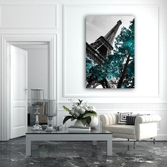 obraz z paryżem