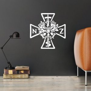 tatuaż z krzyżem