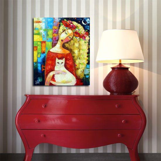 nowoczesne obrazy do sypialni